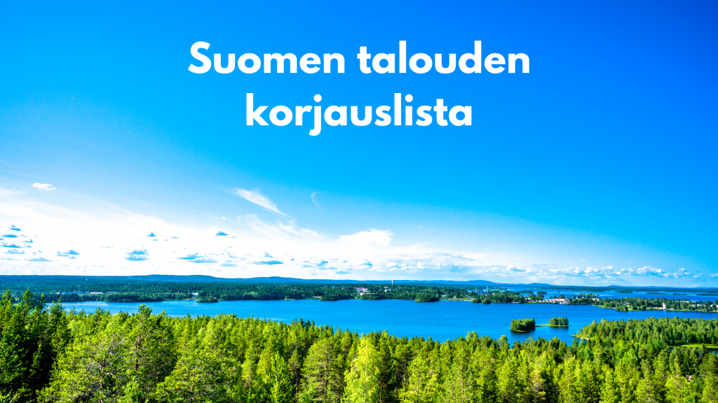 Suomen talouden korjauslista